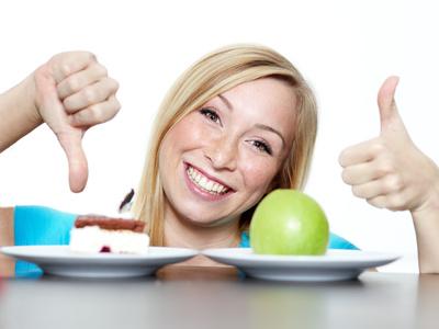 Bestimmte Lebensmittel in der Diät vermeiden